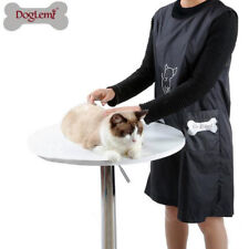 Dog Pet Grooming Apron Clothes Hair Cut Beautician Anti-static Smock Waterproof