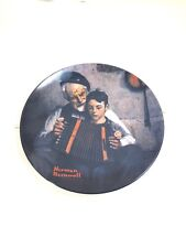 Norman Rockwell Collector Plate - The Music Maker 1981