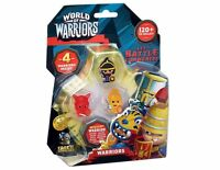 WORLD OF WARRIORS FOUR FIGURE MINI FIGURE PACK BRAND NEW IN PACK RANDOMLY PICKED