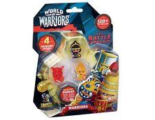 Mundo de paquete de cuatro guerreros figura Mini Figura a Estrenar en Paquete al azar recogido