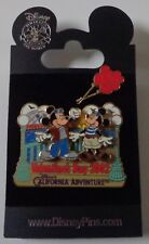 Disney DCA Valentine's Day 2002 Mickey & Minnie with Heart Balloons Pin LE