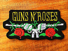 "GUNS N' ROSES "" Rock Band Iron On Sew Applique Embroidered Patch"