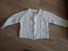 baby girl chunky style cardigan 6-9 months