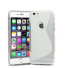 Pour Iphone 6 4.7 pouces Coque Gel Silicone S-Line Transparent