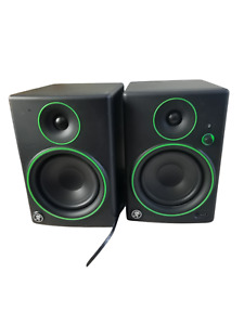 Pair Set Mackie CR5-BT Bluetooth Reference Multimedia Studio Monitors Speakers