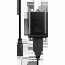 Genuine Sony MINI USB Charger PRSA-AC10 AC WALL & USB CELL PHONE MINI USB CHARGE