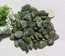 20 Stunning Green Epidote Crystal Tumblestones - Small