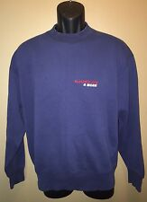 Vintage ELECTRIC AVE & MORE 50/50 Sweatshirt MONTGOMERY WARD Adult Size LARGE