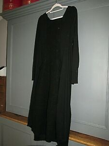 """COMPLETO LINO wool mix lagenlook arty dress size M, 38"""" ch"""