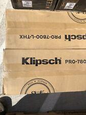Klipsch PRO-7800-L-THX in-wall speaker Damage To Box  Speakers Is Perfect Dealer