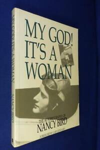 SIGNED BOOK - MY GOD! IT'S A WOMAN Nancy Bird AUSTRALIAN AVIATION MEMOIR MedPb