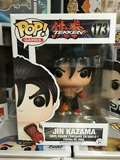 FUNKO POP GAMES TEKKEN JIN KAZAMA #173 w POP PROTECTOR
