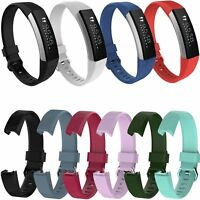 Sport Strap Silicone Watch Band Metal Buckle for Fitbit Alta HR Activity Tracker