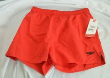 Speedo Men's Swim Trunks Boxer Size Small Fiesta Red 7320256 183