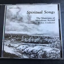 Spiritual Songs CD Melodious Accord Alice Parker Religious Spirituals Music