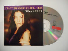 TINA ARENA : I WANT TO KNOW WHAT LOVE IS ♦ CD SINGLE PORT GRATUIT ♦