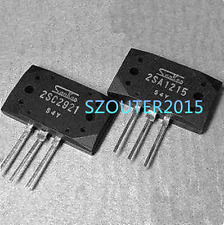 1 pair of 2SA1215 and 2sc2921 Japan-Transistor NPN 160V 15A 150W   NEW