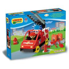 Unico Plus - Mezzo dei pompieri - Costruzioni compatibili Lego Duplo