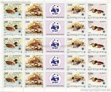 Jugoslavia - 1989 WWF anatre Ducks 2328-31 piccoli archi **