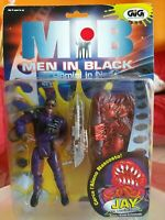 GIG gioco MIB MEN IN BLACK Gli Uomini in nero con lanciafiamme anno 1997 NUOVO.