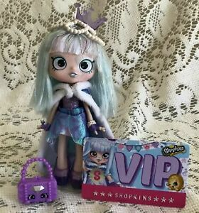Shopkins Shoppies Special Edition Gemma Stone Doll LOOSE Figure Playset Purple