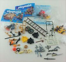 Lot playmobil pièces détachées bateau pirate 5135 cache canon x5