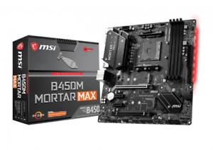 MSI B450m Mortar Max Am4 ATX Motherboard