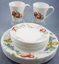 Corelle Chutney 17 Pcs Dinner Salad Plates Pair Coordinates Stoneware Mugs