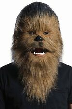 Rubies Star Wars Chewbacca Moving Mouth Deluxe Character Movie Adult Mask 34961