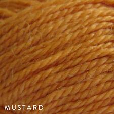 5 x 50g Balls - Patons Jet 12ply Wool-Alpaca - Mustard #824 - $34.95 A Steal