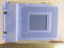 1 Amp 96-3409-025-003-2 587 Pin ZIF/HAZ PGA Socket
