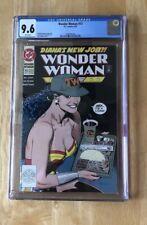 Wonder Woman #73 DC 1993 CGC 9.6 White Pgs Bolland  GGA Cover New Case