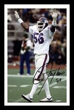 LAWRENCE TAYLOR - NEW YORK GIANTS AUTOGRAPHED SIGNED & FRAMED PP POSTER PHOTO