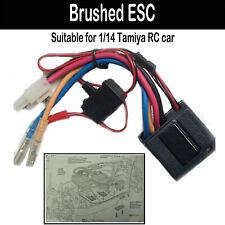 1*Robust Gebürstet ESC TEU-101BK Getriebe für 1 / 14Tamiya RC Auto Ersatzteile
