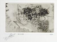 DDR-Kunst. Radierung Klaus SOBOLEWSKI (1962-2006 D) handsigniert, numm. 11/27