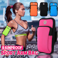 Sports Running Bag Wrist Armband Pouch Mobile Phone Holder Wallet Jogging