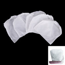 10Pcs White Non-woven Replacement Bags For Nail Art Dust Suction Collector CH