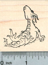 Dragon Rubber Stamp, Relaxing H32230 WM