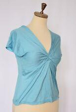HUGO BOSS Blue Womens Top Blouse Tshirt Size S