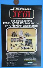 FLYER Kenner Theater Promotion Offer '85 vtg Star Wars catalog Power of Force