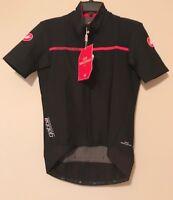 Men's Castelli Gabba 2 Short Sleeve Jacket ~ Black ~ Sz M ~ NWT