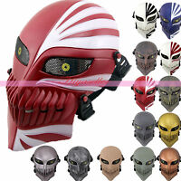 Hot DEATH NOTE Airsoft Paintball CS War Game Full Face Protective Skull Mask