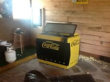 antique Pittsburgh Steelers Coca Cola soda machine