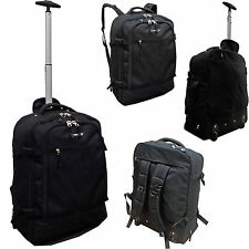 Wheeled backpack Ryanair Easyjet approved cabin bag on board luggage 55x40x20cm