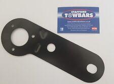 Towbar Towball Single Electrics Black Socket Mounting Plate 12n 12s metal plate