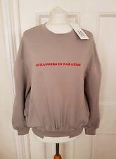 "New Zoe Karssen Sweatshirt ""Strangers in Paradise"" Sweatshirt"