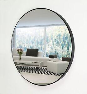 SHAPE Round Decor Mirror SMR 40 / 60 / 80 / 100cm BLACK NEW
