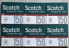 6 Bobine Scotch 15/360 - Vergini -  6 Vintage Blank Reel to reel 5 in/1200 ft