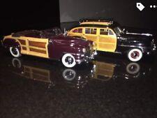 Lot If 2 Danbury Mint Die-cast Cars (Exceptional Condition)