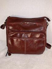 Womens Handbag / Shoulder Bag / Purse - Relic | Red Crimson Leather Satchel Bag